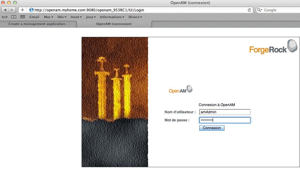 OpenAM - Configuration - step 0