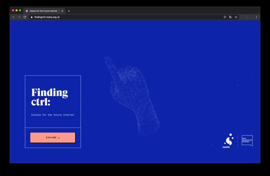 Site web Finding ctrl: