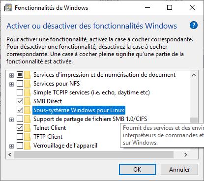 Fonctionnalités de Windows
