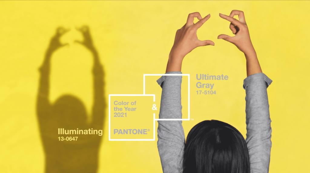 Image d'illustration des couleurs Pantone 2021