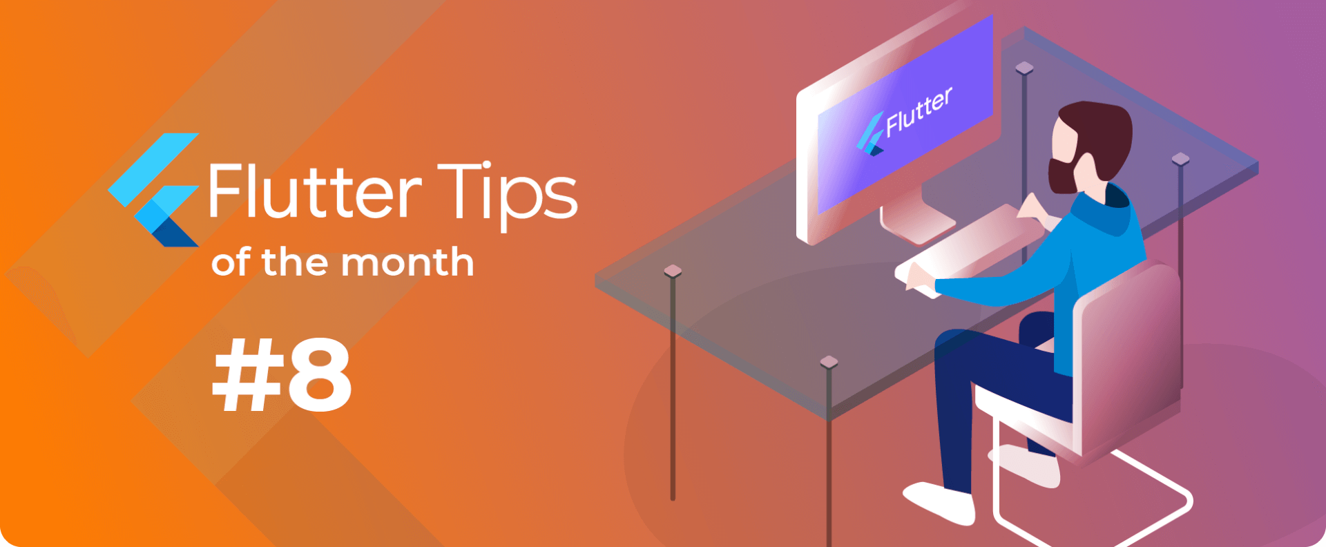Bannière Flutter Tips of the month #8