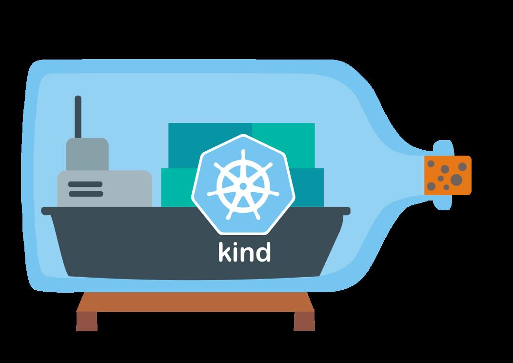 Kind - Kubernetes in Docker Logo