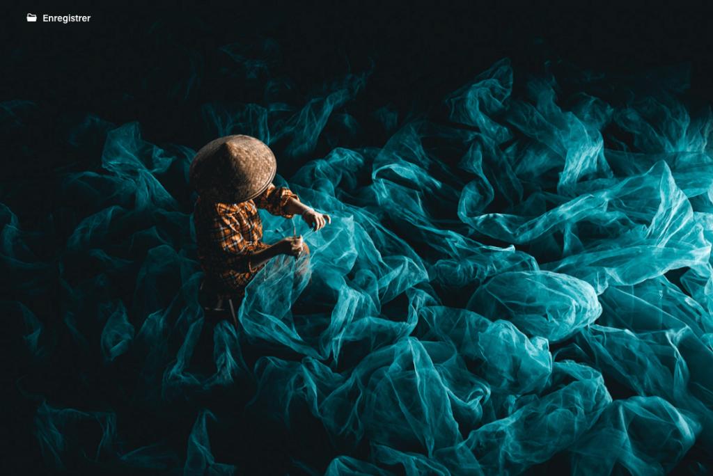 The Fisherman, photographie de Tobias Hägg