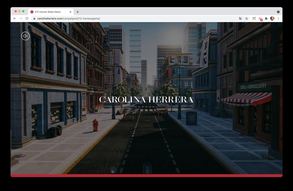 Screenshoot de la home page du jeu 212 Heroes